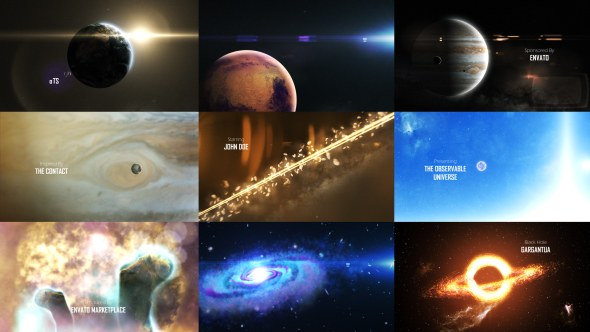 Solar System 3 ( The Observable Universe ) 8K - Download Videohive 16139499
