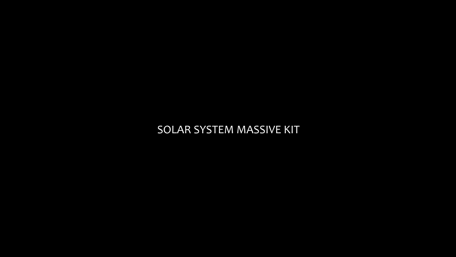 Solar System Massive Kit - Download Videohive 20502362
