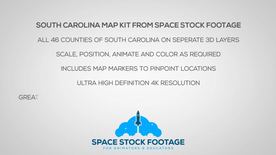 South Carolina Map Kit - Download Videohive 20816966