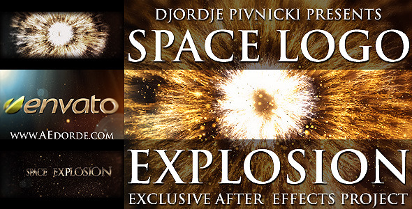 Space Logo Explosion - Download Videohive 1517310