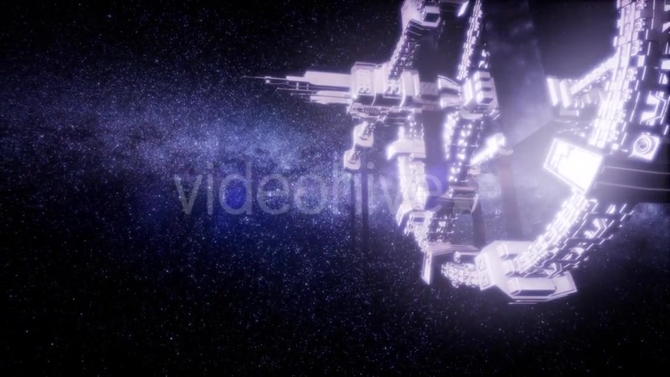 Spaceship Travelling Through the Universe - Download Videohive 21264109