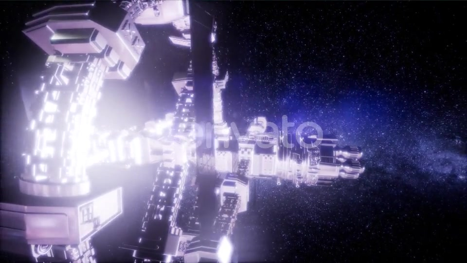 Spaceship Travelling Through the Universe - Download Videohive 21672931