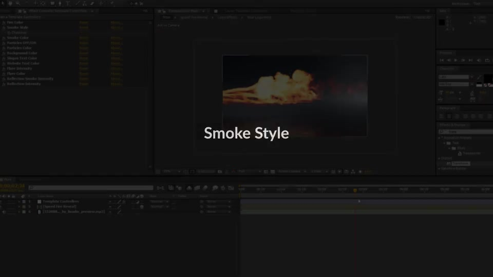 Speed Fire Logo Reveal - Download Videohive 21451591
