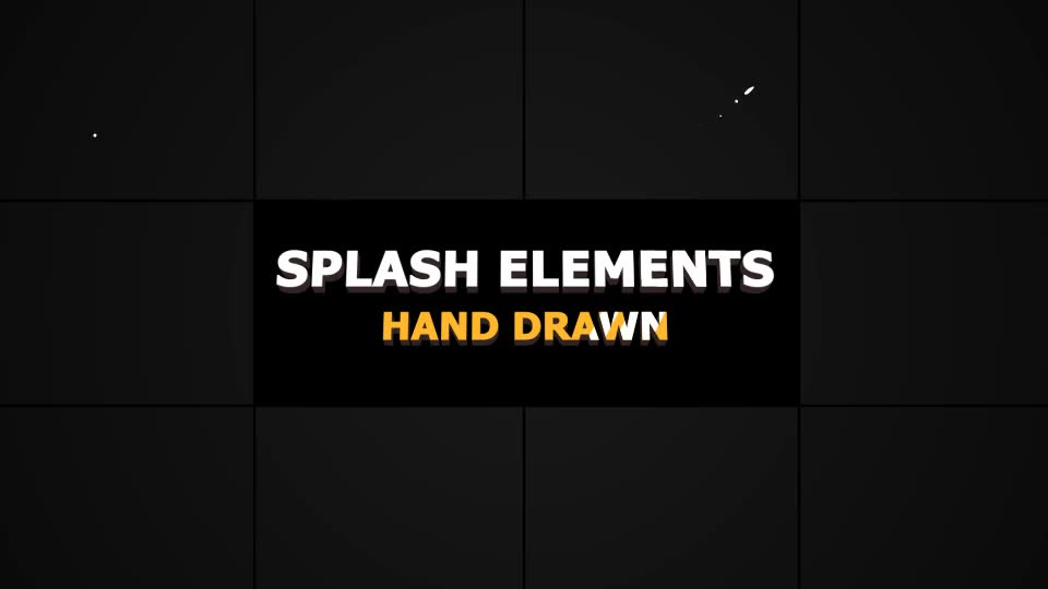 Splash Animated Elements - Download Videohive 21307372