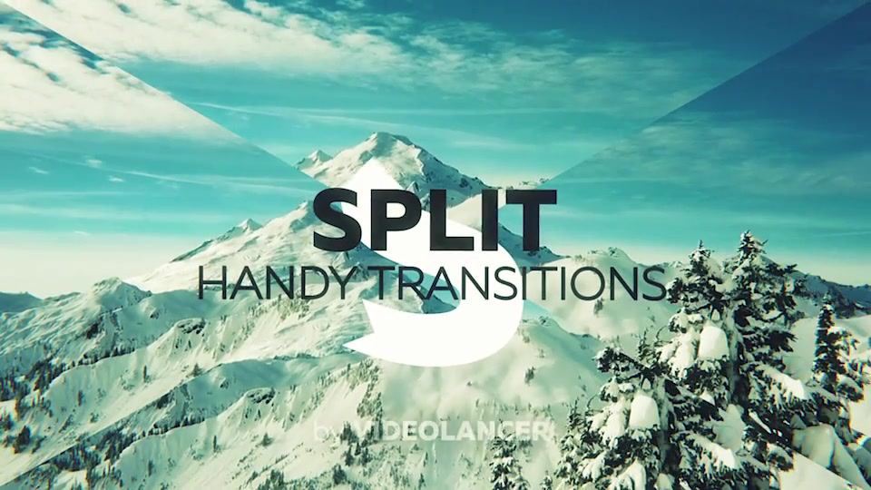 Split Handy Transitions - Download Videohive 21617948