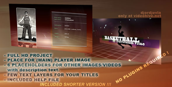 SPORT VIDEO CV - Download Videohive 133859