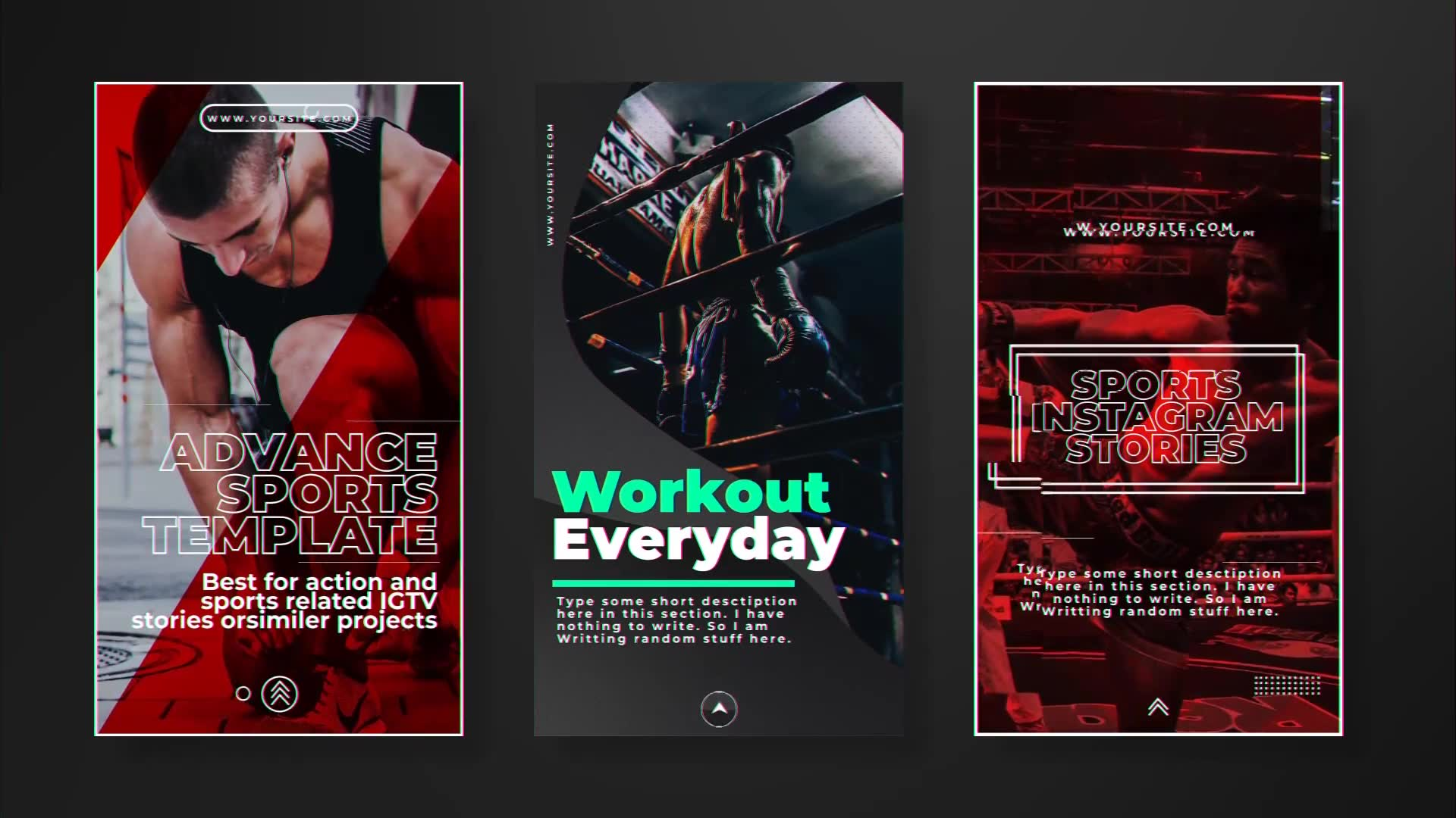 Sports Instagram Stories - Download Videohive 23100349