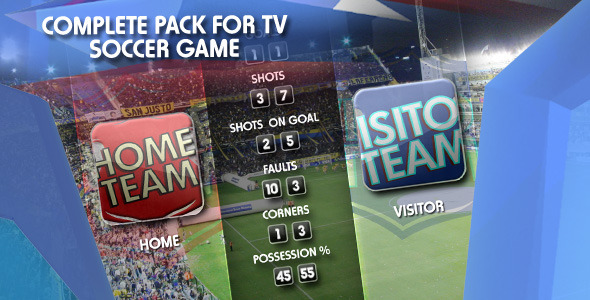Sports Pack Tv Soccer Game - Download Videohive 1223477