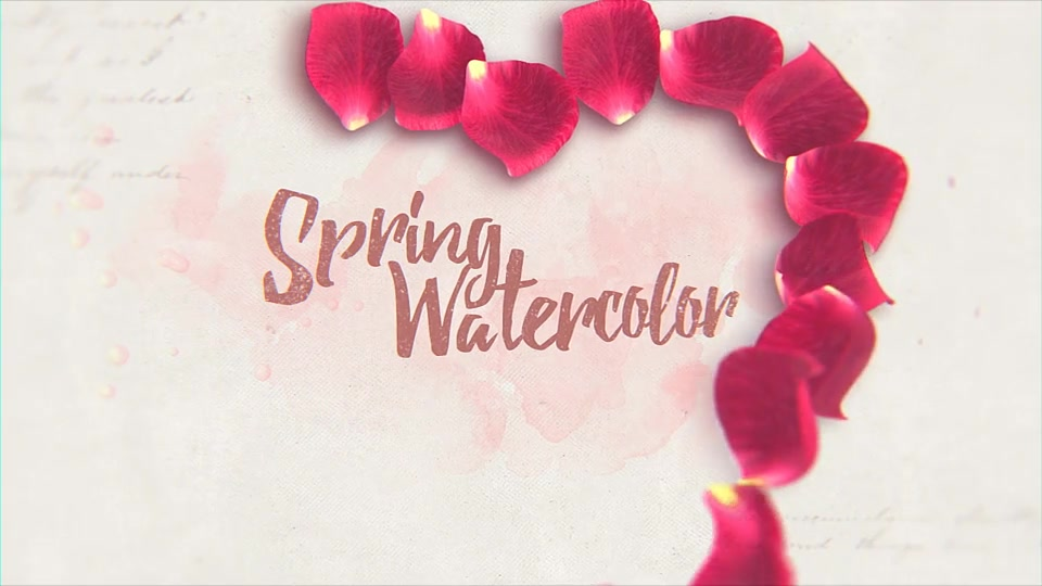 Spring Watercolor - Download Videohive 14829529