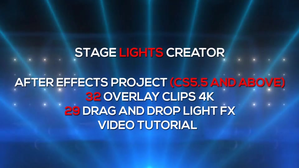 Stage Lights Creator - Download Videohive 22504346