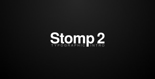 Stomp 2 Typographic Intro - Download Videohive 19788733