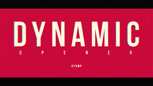 Stomp Opener - Download Videohive 20089046