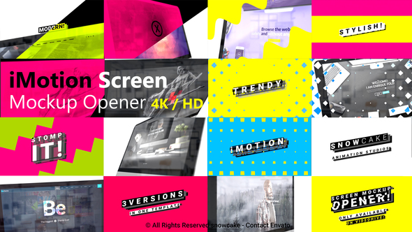 Stomp Screen Mockup Opener - Download Videohive 21654917