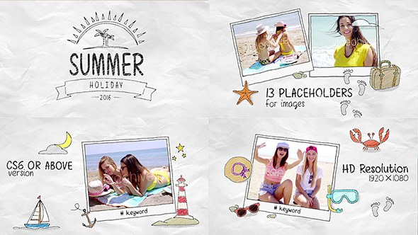 Summer Holidays - Download Videohive 16928453