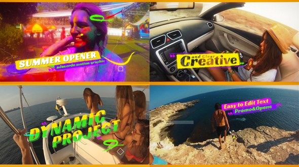 Summer Opener - Download Videohive 19745353