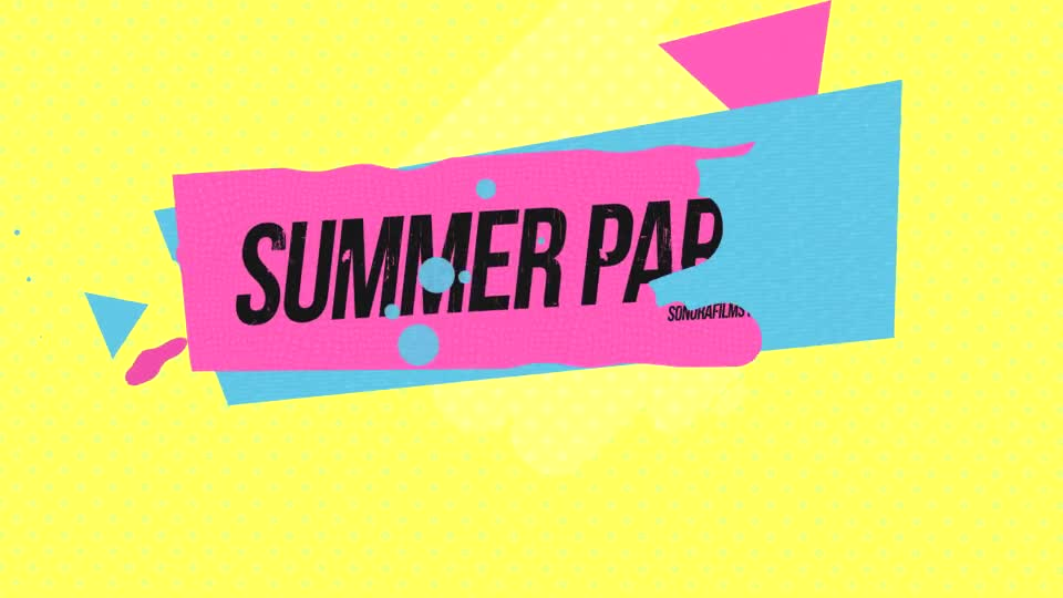 Summer Party - Download Videohive 19939463