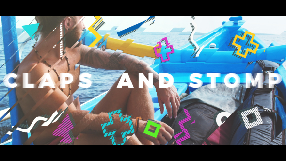 Summer Stomp Logo - Download Videohive 20456393