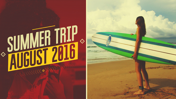 Summer Trip - Download Videohive 16804831