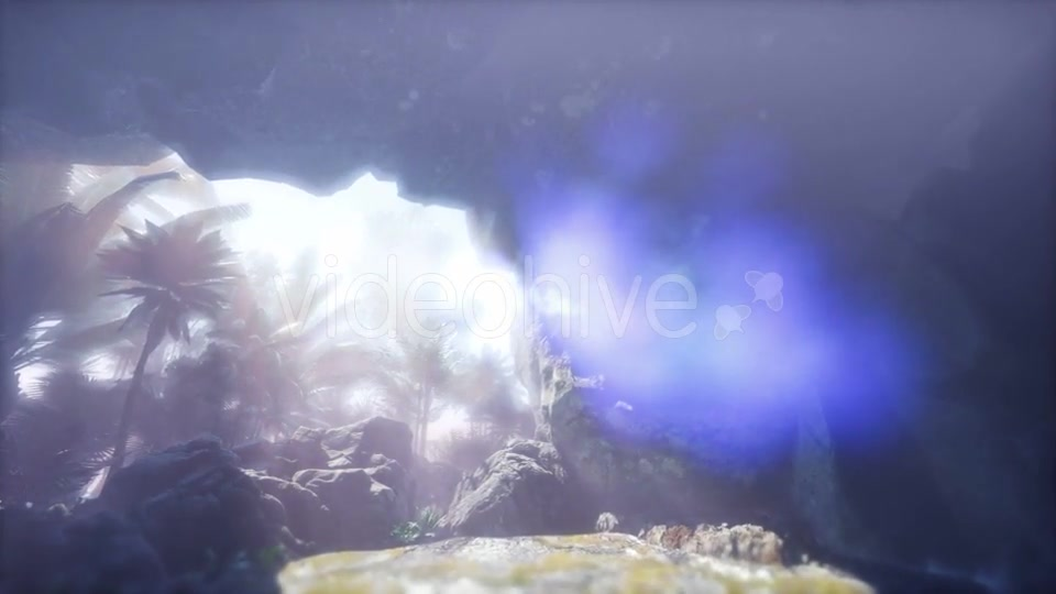 Sun Light Inside Mysterious Cave - Download Videohive 21297505