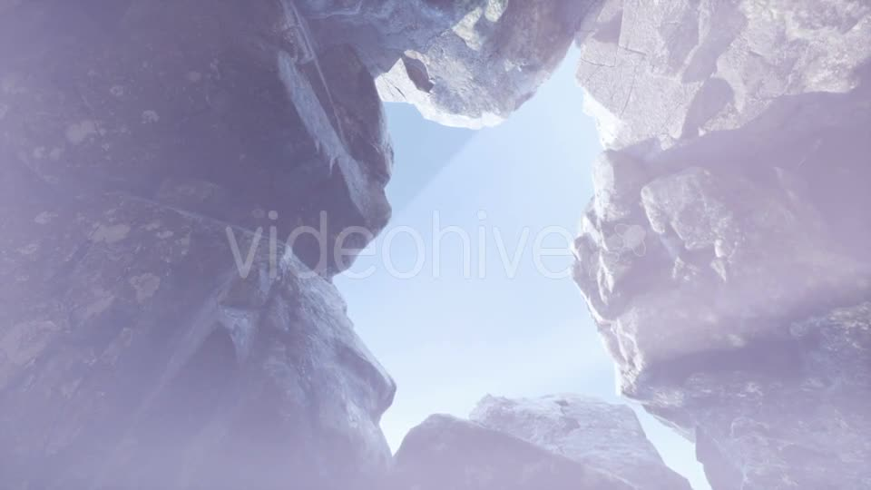 Sun Light Inside Mysterious Cave - Download Videohive 21313538