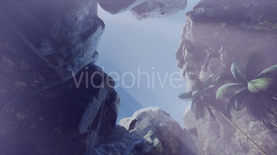 Sun Light Inside Mysterious Cave - Download Videohive 21389763