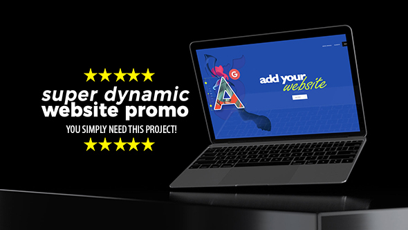 Super Dynamic Website Promo - Download Videohive 21546387