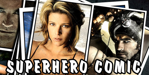 Superhero Comic - Download Videohive 7233394