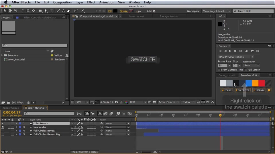Swatcher Script v2.0 - Download Videohive 5238472