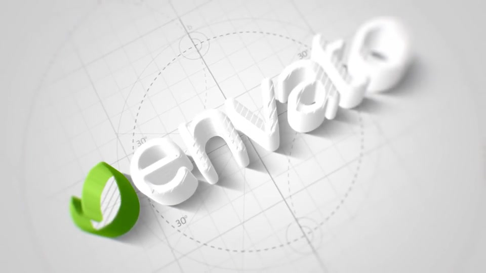 Technical Elegant Logo 3D Opener - Download Videohive 22066596