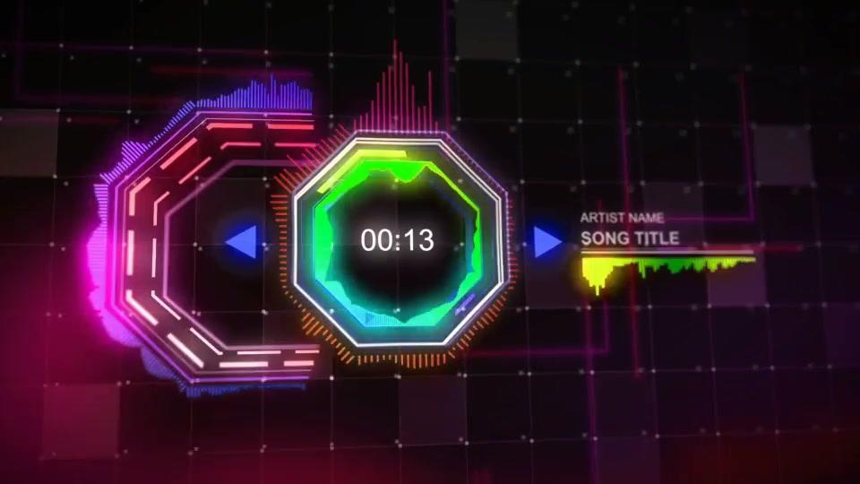 Techno Music Visualizer - Download Videohive 13444004