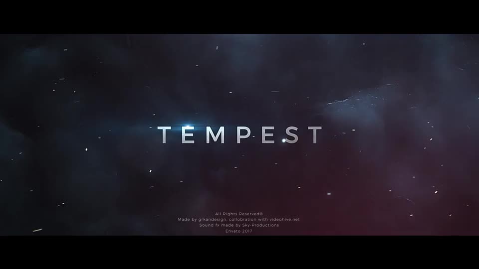 Tempest | Trailer Titles - Download Videohive 19269758