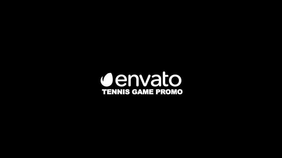 Tennis Game Promo - Download Videohive 22811902