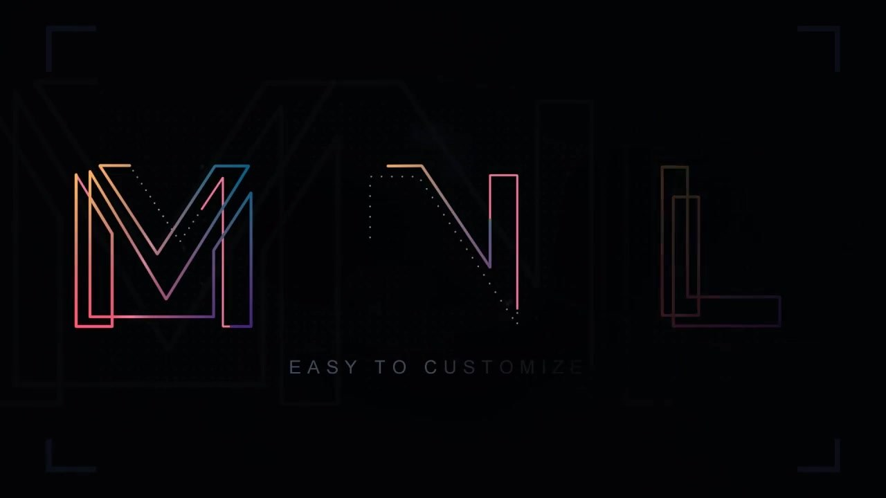 Tesla Animated Letters - Download Videohive 19249939