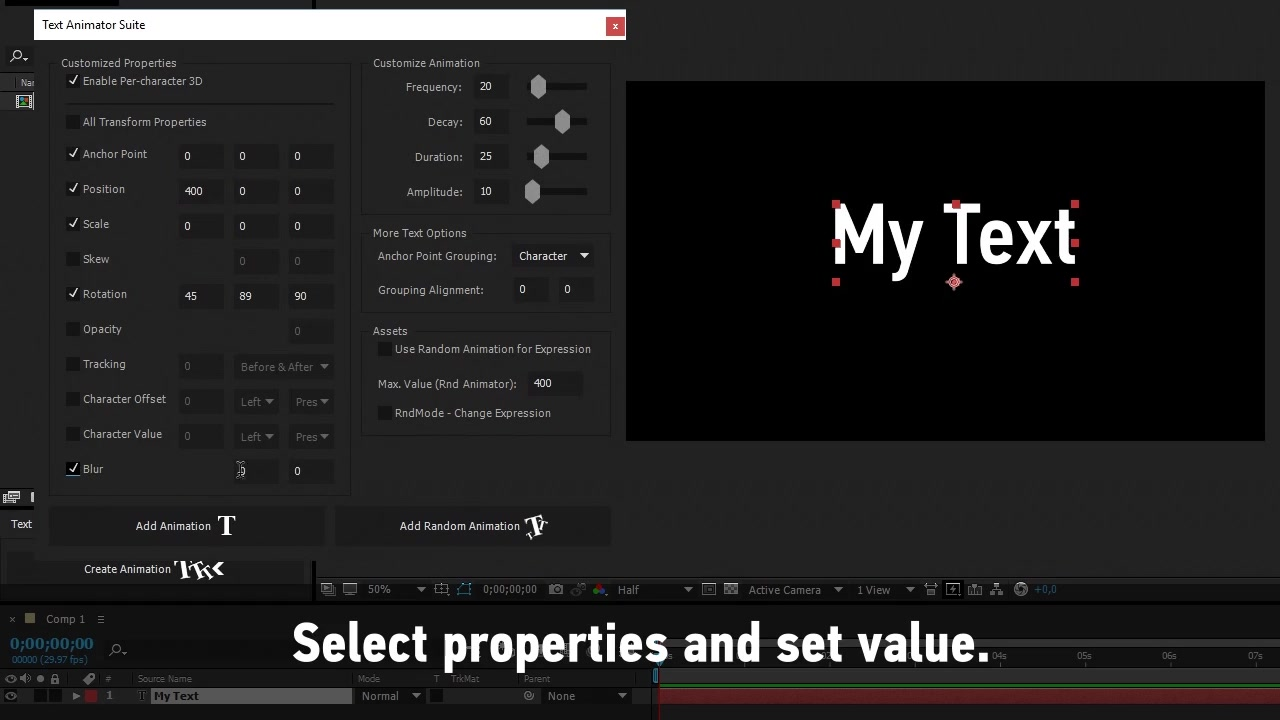Text Animator Suite | After Effects Script - Download Videohive 14530455