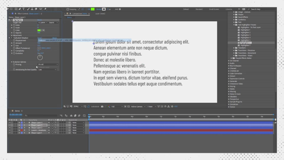 Text Highlighter Presets Videohive 28871094 After Effects Image 9