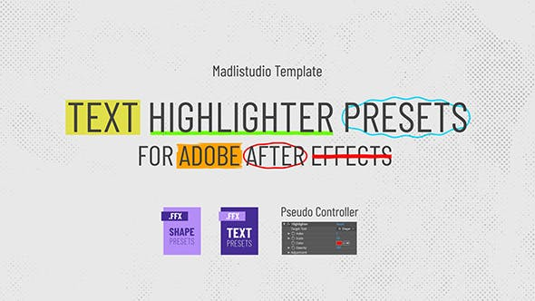Text Highlighter Presets - Download Videohive 28871094