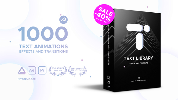 Text Library Handy Text Animations – Download Videohive 21932974 - Free