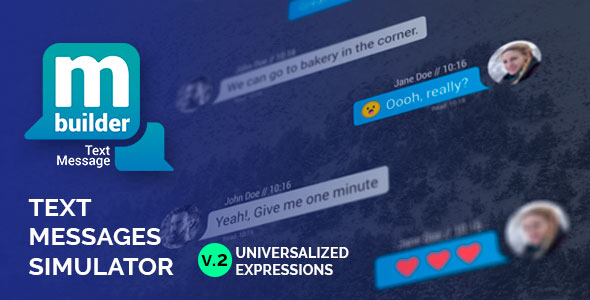 Text Message Builder - Download Videohive 19883232