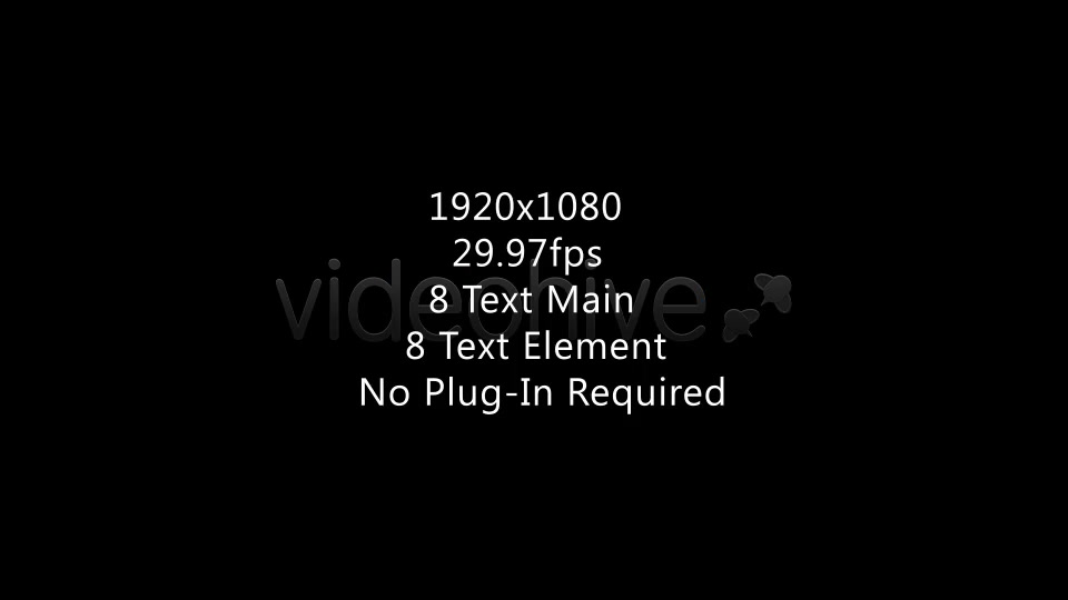 Text Tittle Opener - Download Videohive 3251281