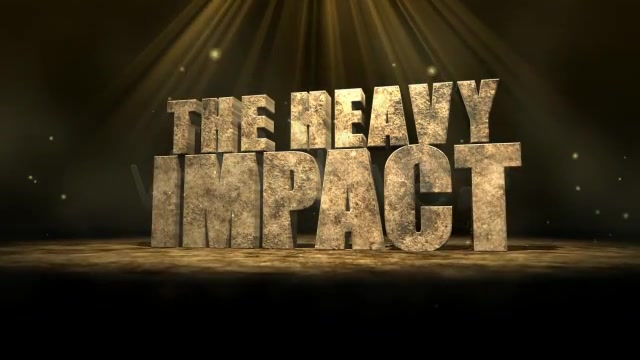The Heavy Impact - Download Videohive 136475