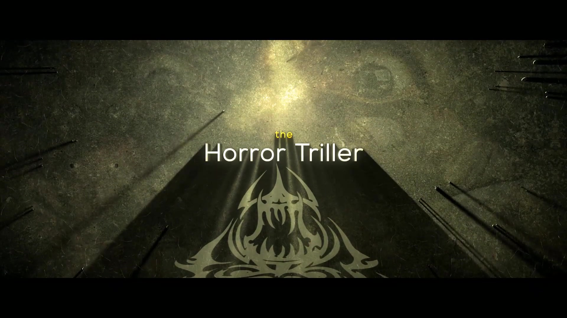 The Horror Cinematic Trailer - Download Videohive 17929594