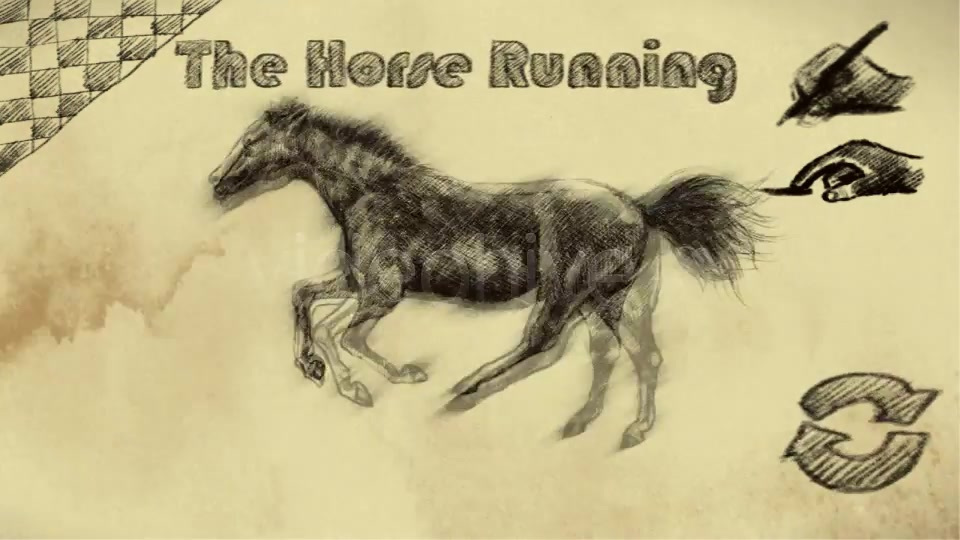 THE HORSE RUNNING - Download Videohive 1825944