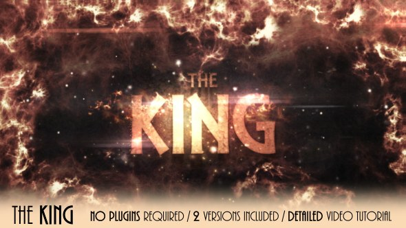 The King - Download Videohive 19489473