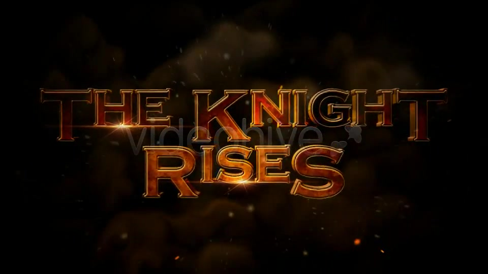 The Knight Rises Cinematic Trailer - Download Videohive 3345066