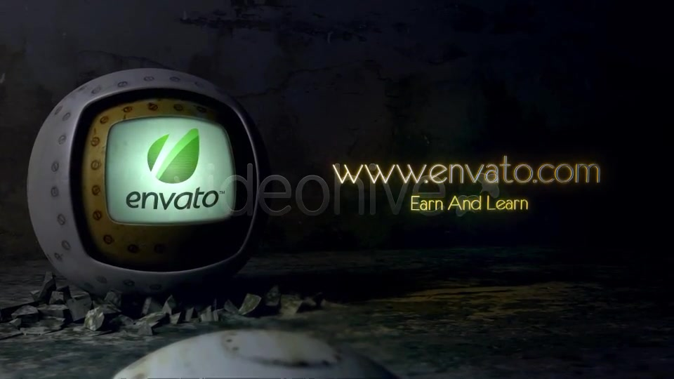 The Metal Sphere Logo - Download Videohive 3750423