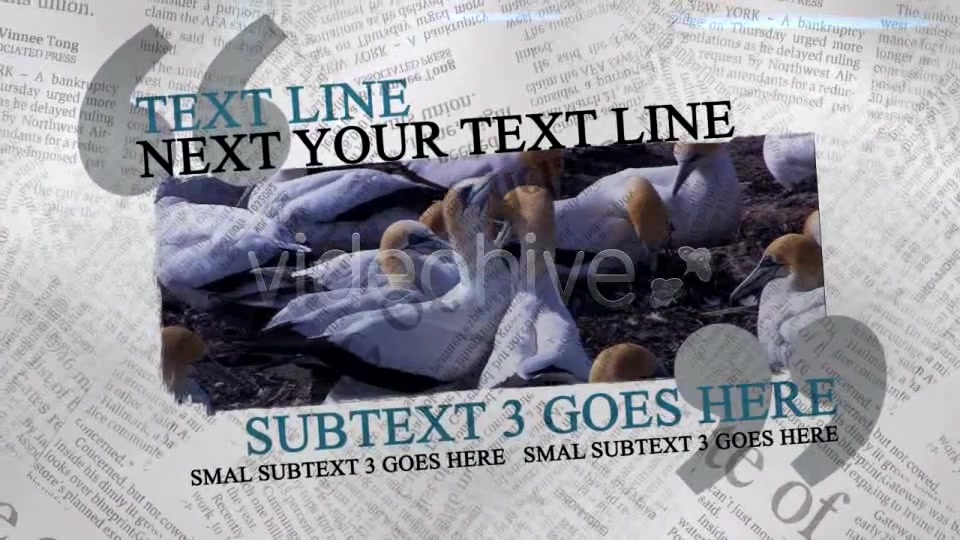 The Newspaper Project Videohive 163193 After Effects Image 5