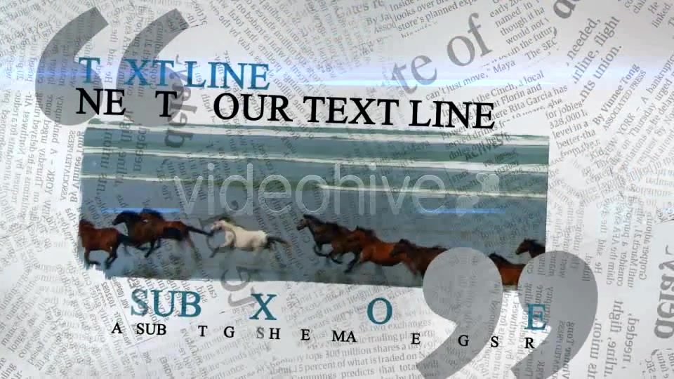 The Newspaper Project Videohive 163193 After Effects Image 8
