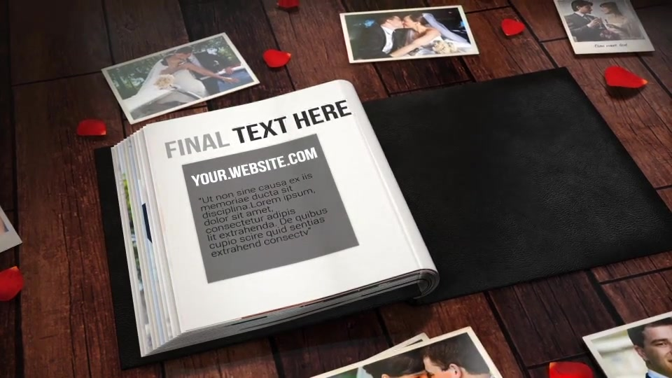 The Photo Album for Element 3D - Download Videohive 14115429