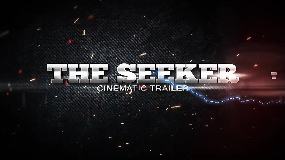 The Seeker Cinematic Trailer - Download Videohive 14957219