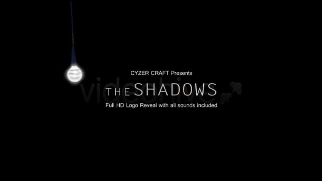 The Shadows Monster Scary Horror Logo or Title - Download Videohive 4856940